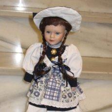 Muñecas Porcelana: MUÑECA PORCELANA. 41CM.. Lote 187526405