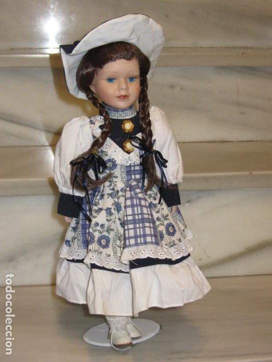 Muñecas Porcelana: Muñeca Porcelana. 41cm. - Foto 11 - 187526405