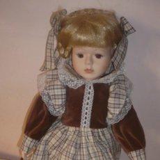 Muñecas Porcelana: MUÑECA DE PORCELANA DE COLECCIÓN. Lote 187591378