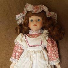 Muñecas Porcelana: MUÑECA LOUISA. MUÑECA DE PORCELANA.. Lote 188653732