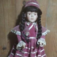 Muñecas Porcelana: MUÑECA ANTIGUA.. Lote 189182253