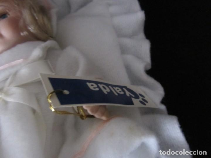 Muñecas Porcelana: Pequeña muñeca de porcelana. 20cm. Yalda. - Foto 3 - 189427547