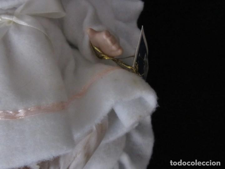 Muñecas Porcelana: Pequeña muñeca de porcelana. 20cm. Yalda. - Foto 9 - 189427547