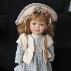 Muñecas Porcelana: MUÑECA PORCELANA. 42CM.. Lote 189427741