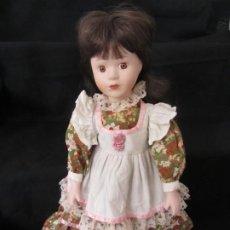 Muñecas Porcelana: MUÑECA PORCELANA. 41CM.. Lote 189427946