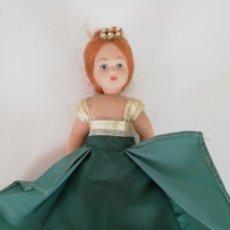 Muñecas Porcelana: MUÑECA DE PORCELANA. MEDIDA 17CM.. Lote 189546980