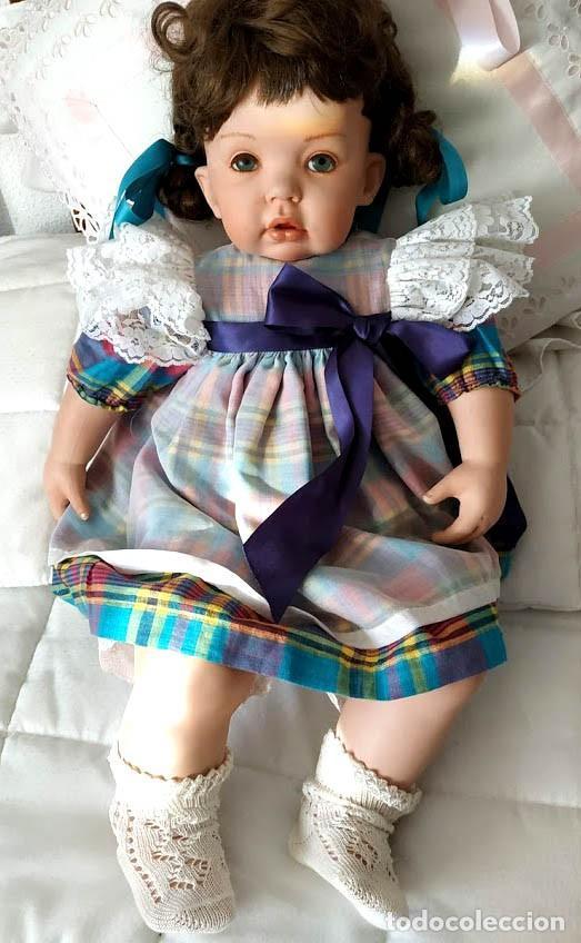 Muñecas Porcelana: TIBBY, LA GORDY MUÑECA DE PORCELANA ARTICULADA. - Foto 9 - 191410383