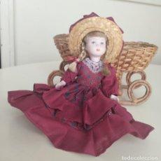 Muñecas Porcelana: BONITA MUÑECA DE PORCELANA. 22 CM. . Lote 192100850