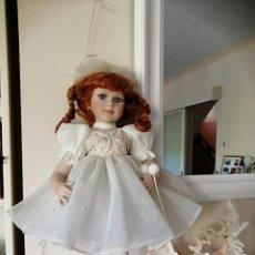 Muñecas Porcelana: MUÑECA DE COLECCION MAYORETTE DE PORCELANA EXTRANJERA DE EDICION LIMITADA DE MI COLECCION. Lote 192876200
