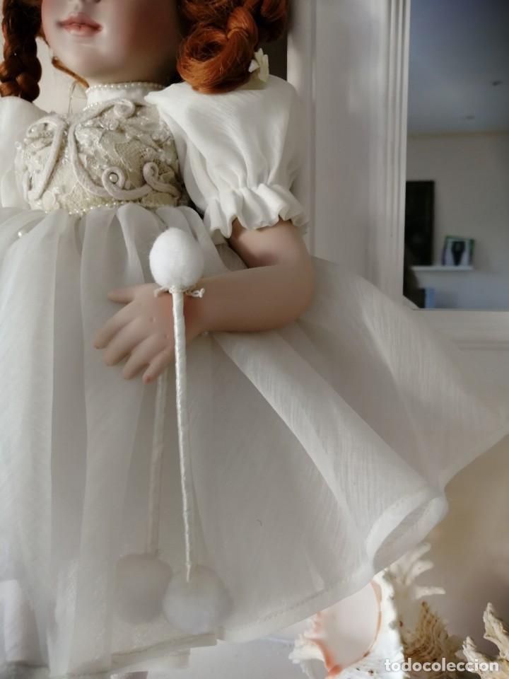 Muñecas Porcelana: Muñeca de coleccion mayorette de porcelana extranjera de edicion limitada de mi coleccion - Foto 3 - 192876200