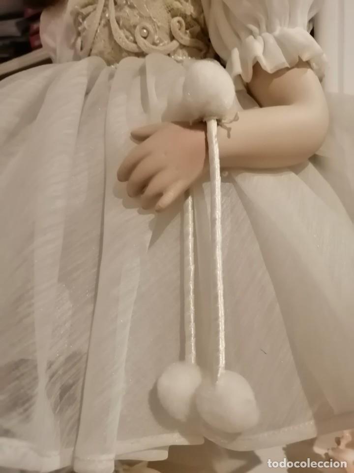 Muñecas Porcelana: Muñeca de coleccion mayorette de porcelana extranjera de edicion limitada de mi coleccion - Foto 7 - 192876200