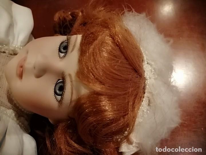 Muñecas Porcelana: Muñeca de coleccion mayorette de porcelana extranjera de edicion limitada de mi coleccion - Foto 11 - 192876200
