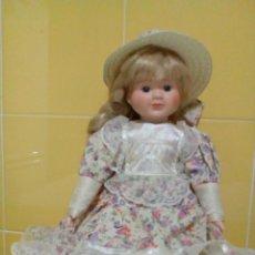 Muñecas Porcelana: MUÑECA DE PORCELANA 40 CM. Lote 193026520