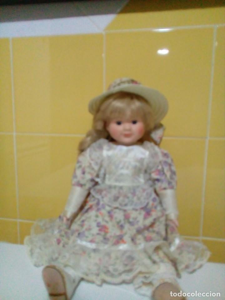 Muñecas Porcelana: MUÑECA DE PORCELANA 40 CM - Foto 3 - 193026520