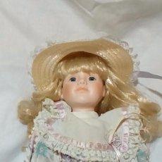 Muñecas Porcelana: ANTIGUA MUÑECA DE PORCELANA 42 CM. Lote 193029413