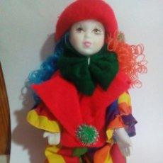 Muñecas Porcelana: MUÑECA DE PORCELANA. Lote 193037543