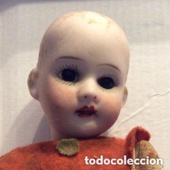 Muñecas Porcelana: ANTIGUA MUÑECA CARA PORCELANA Y CUERPO CARTON Y MADERA - 1904 EDUARDO JUAN MADE IN AUSTRIA - Foto 2 - 193084282