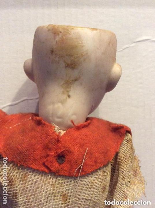 Muñecas Porcelana: ANTIGUA MUÑECA CARA PORCELANA Y CUERPO CARTON Y MADERA - 1904 EDUARDO JUAN MADE IN AUSTRIA - Foto 3 - 193084282