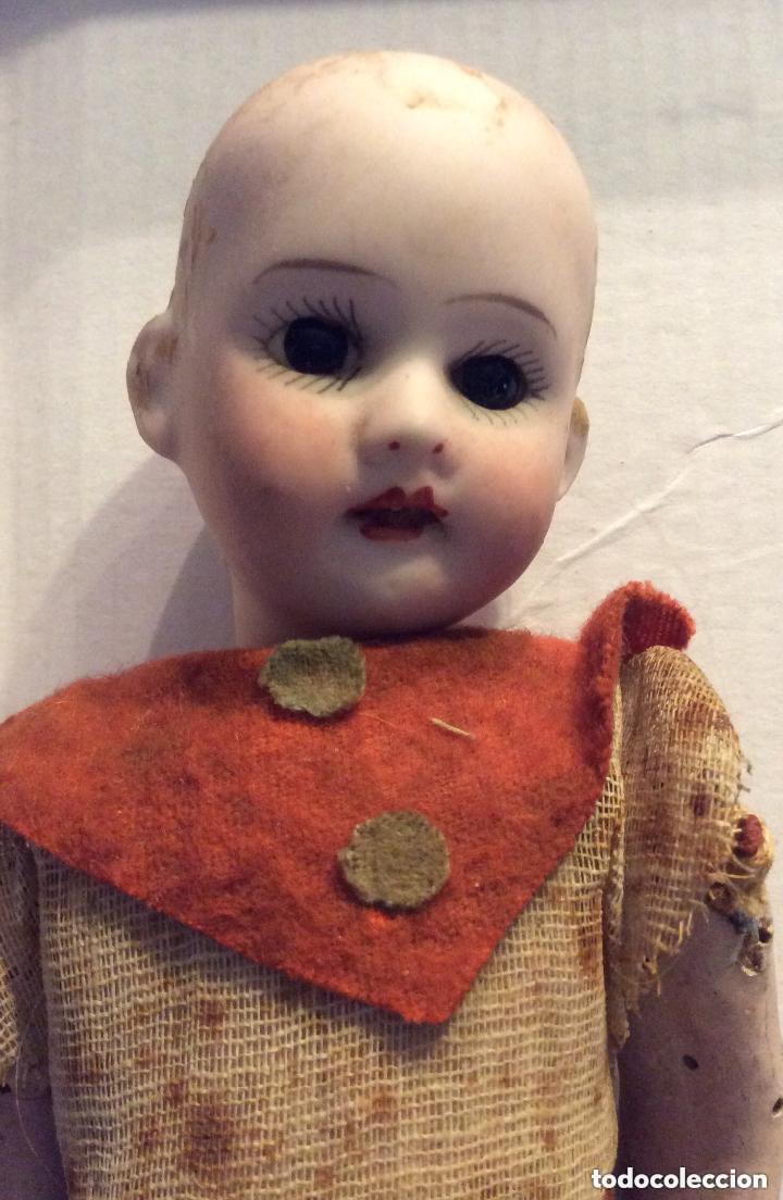 Muñecas Porcelana: ANTIGUA MUÑECA CARA PORCELANA Y CUERPO CARTON Y MADERA - 1904 EDUARDO JUAN MADE IN AUSTRIA - Foto 6 - 193084282