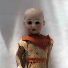 Muñecas Porcelana: ANTIGUA MUÑECA CARA PORCELANA Y CUERPO CARTON Y MADERA - 1904 EDUARDO JUAN MADE IN AUSTRIA . Lote 193084282