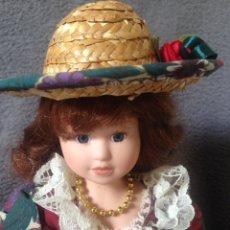 Muñecas Porcelana: MUÑECA DE PORCELANA. Lote 193088213