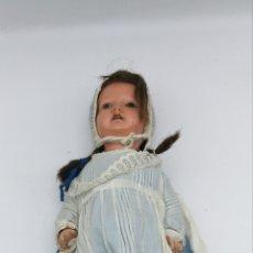 Poupées Porcelaine: MUÑECA KAMMER REINHARDT MARCA ESTRELLA DE DAVID CREO QUE DE FINALES DEL XIX. Lote 193117346