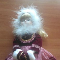 Muñecas Porcelana: MUÑECA DE PORCELANA EN CARA, MANOS Y PIES. Lote 193445680