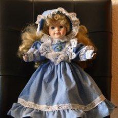 Muñecas Porcelana: MUÑECA DE PORCELANA. Lote 193917401