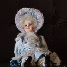 Muñecas Porcelana: MUÑECA DE PORCELANA. Lote 193917668