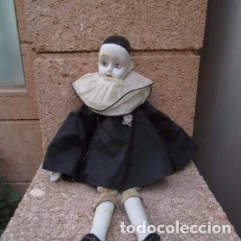 Muñecas Porcelana: pierrot muñeco figura de porcelana - Foto 2 - 193920537