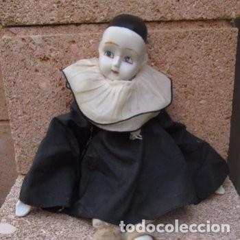 Muñecas Porcelana: pierrot muñeco figura de porcelana - Foto 3 - 193920537