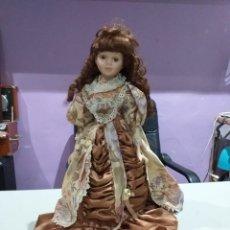Muñecas Porcelana: PRECIOSA MUÑECA PORCELANA ANTIGUA. Lote 193977548