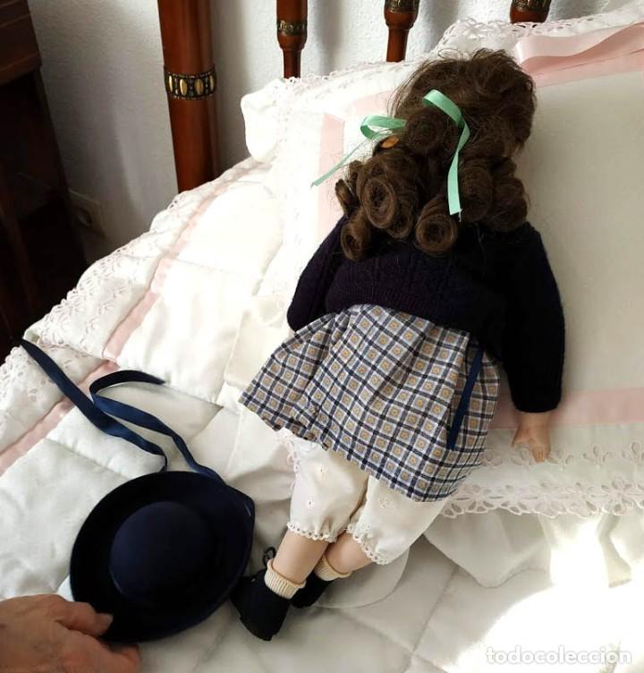 Muñecas Porcelana: LA COLEGIALA, MUÑECA DE PORCELANA ARTICULADA por Mercedes Sos - Foto 7 - 194013013