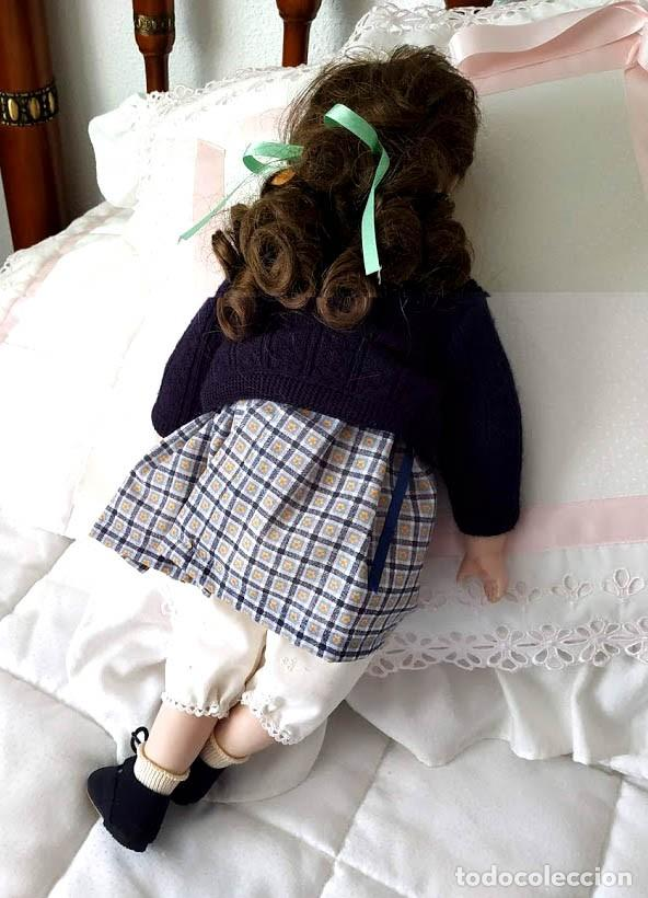 Muñecas Porcelana: LA COLEGIALA, MUÑECA DE PORCELANA ARTICULADA por Mercedes Sos - Foto 8 - 194013013