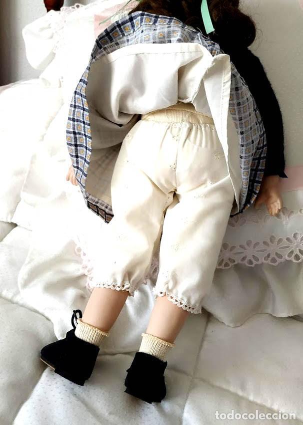 Muñecas Porcelana: LA COLEGIALA, MUÑECA DE PORCELANA ARTICULADA por Mercedes Sos - Foto 9 - 194013013
