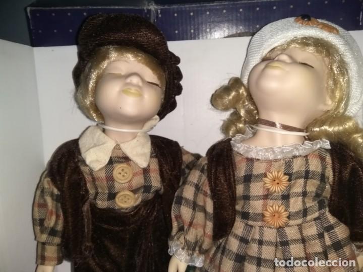 Muñecas Porcelana: Muñecas de porcelana Pareja. Doll - Foto 2 - 159844830