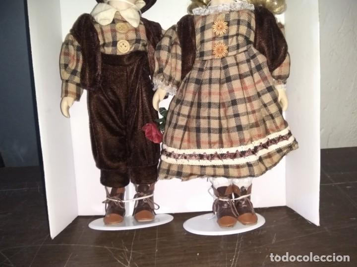Muñecas Porcelana: Muñecas de porcelana Pareja. Doll - Foto 3 - 159844830
