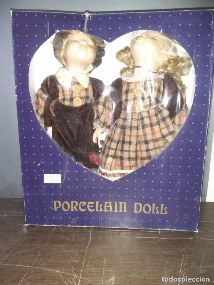Muñecas Porcelana: Muñecas de porcelana Pareja. Doll - Foto 4 - 159844830
