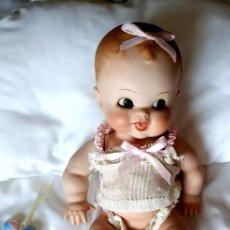 Muñecas Porcelana: NIÑA RUFFUS DE PORCELANA TOTALMENTE ARTICULADA POR MERCEDES SOS. Lote 194074995
