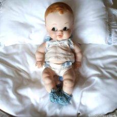 Muñecas Porcelana: NIÑO RUFFUS, MUÑECO DE PORCELA ARTICULADO POR MERCEDES SOS. Lote 194075417