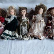 Muñecas Porcelana: LOTE DE MUÑECAS DE PORCELANA. Lote 194487850