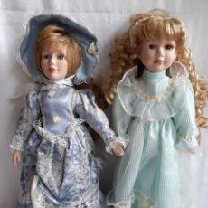 Muñecas Porcelana: ANTIGUAS MUÑECAS DE PORCELANA CLÁSICAS. Lote 194490787
