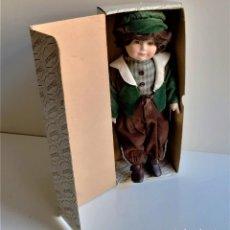 Muñecas Porcelana: ALBERON MUÑECO PORCELANA EN CAJA ORIGINAL - 36.CM ALTO. Lote 194706438