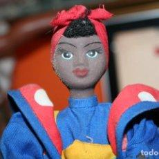 Muñecas Porcelana: MUÑECA PORCELANA CUBANA NEGRITA NEGRA . Lote 194730763