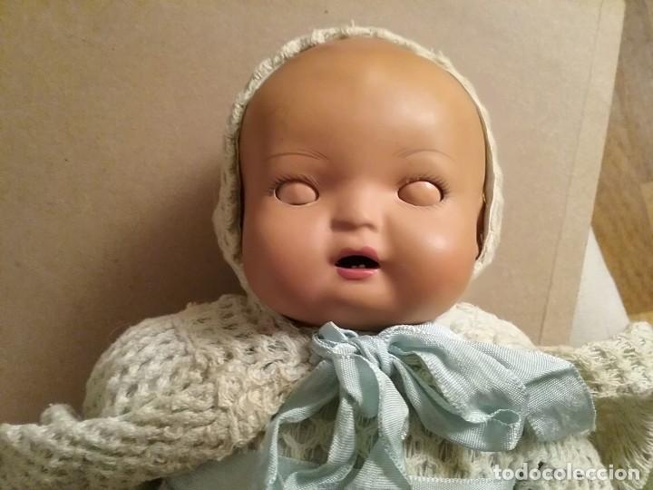Muñecas Porcelana: Bebé mulato de porcelana y tela - Foto 3 - 195036602