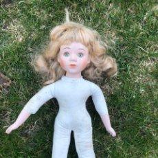 Muñecas Porcelana: MUÑECA PORCELANA SIN ROPA. Lote 195106645