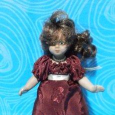 Muñecas Porcelana: MUÑECA PORCELANA 15 CM. Lote 195363820