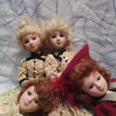 Muñecas Porcelana: MUÑECAS 18 CM.PORCELANA. Lote 195432188