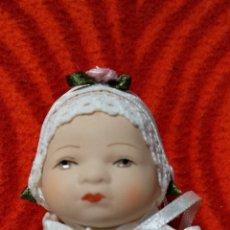 Muñecas Porcelana: BEBÉ PORCELANA MUÑECA COLECCIÓN NUEVA EN SU EMBALAJE ORIGINAL. Lote 195460791