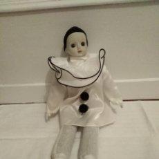 Muñecas Porcelana: PIERROT DE PORCELANA. Lote 195718022